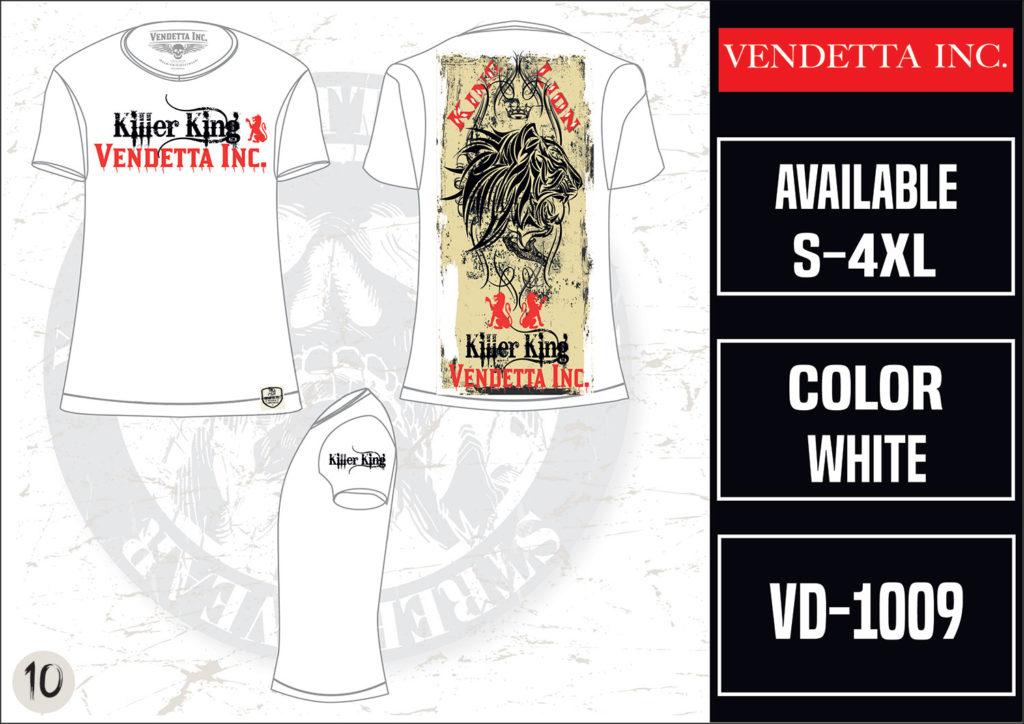 Vendetta Inc. Killer King VD-1009 weiß