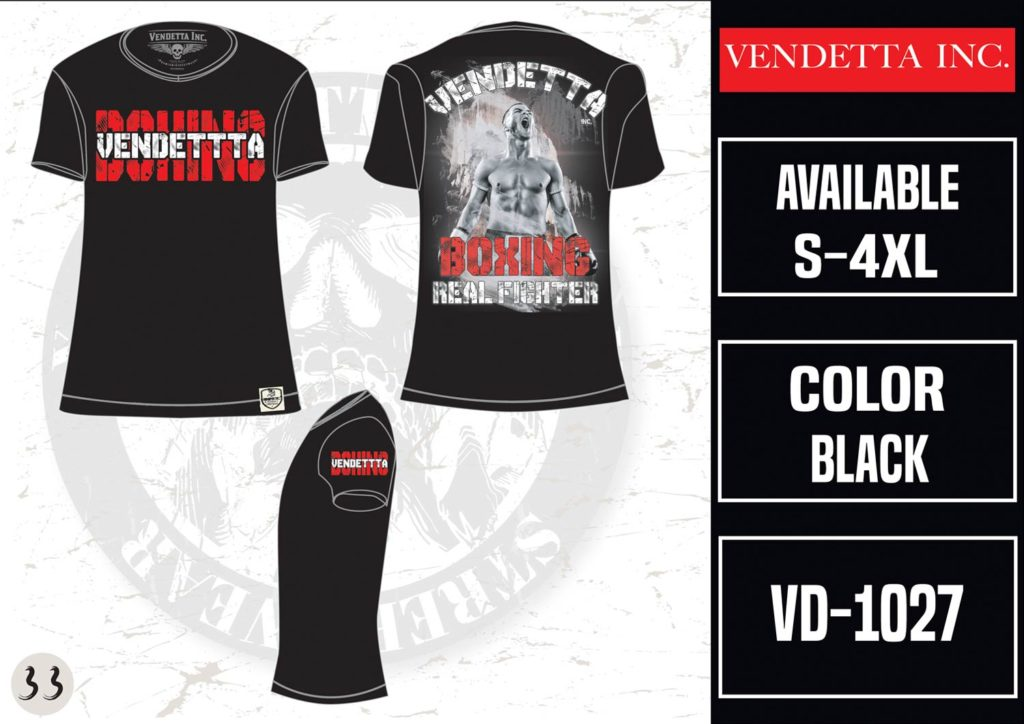 Vendetta Inc. Shirt VD-1023 schwarz
